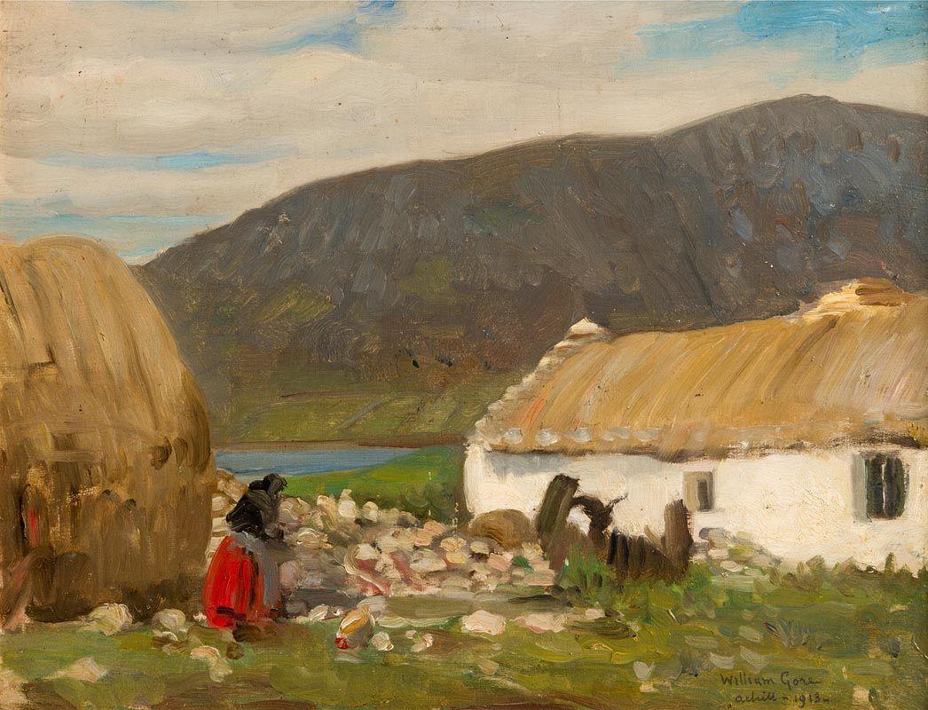 William Crampton, Achill (1913) at Morgan O'Driscoll Art Auctions