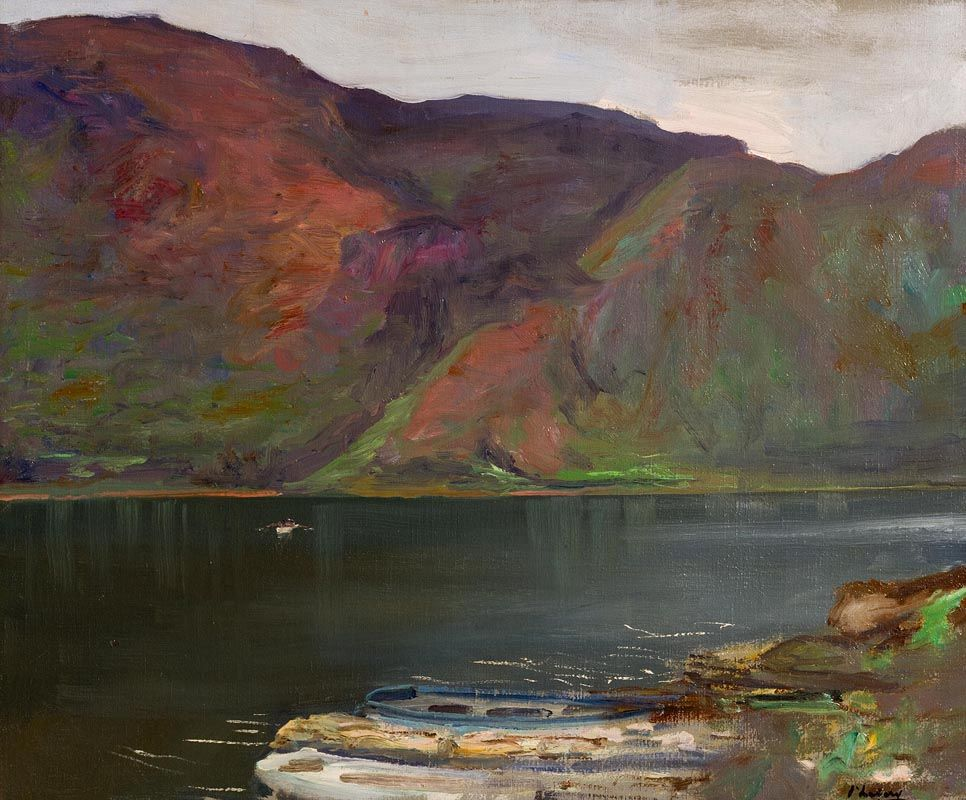 Sir John Lavery, Glendalough, Ireland (1924) at Morgan O'Driscoll Art Auctions