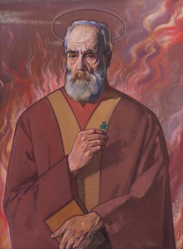 Patrick Tuohy, Saint Patrick (1925-26) at Morgan O'Driscoll Art Auctions