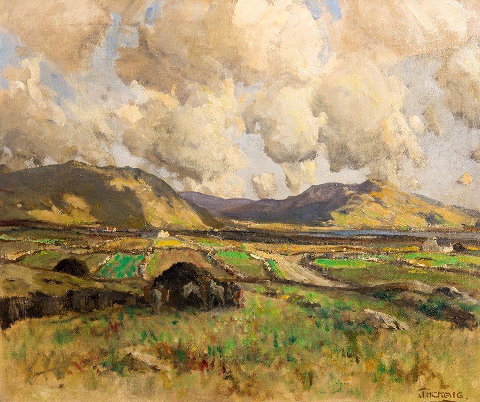 James Humbert Craig, The Rosses, Co Donegal at Morgan O'Driscoll Art Auctions