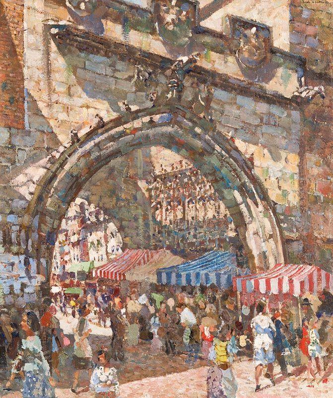 James Le Jeune, Nantes Porte, St. Louis at Morgan O'Driscoll Art Auctions
