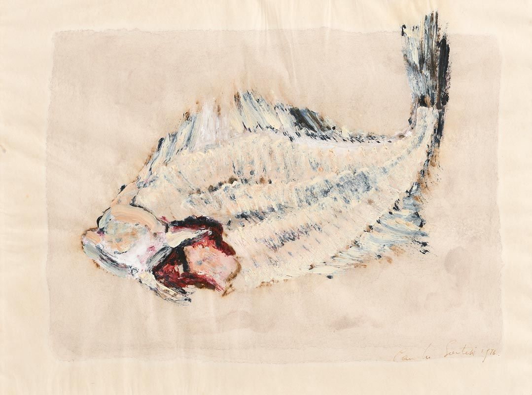 Camille Souter, Plaice (1976) at Morgan O'Driscoll Art Auctions