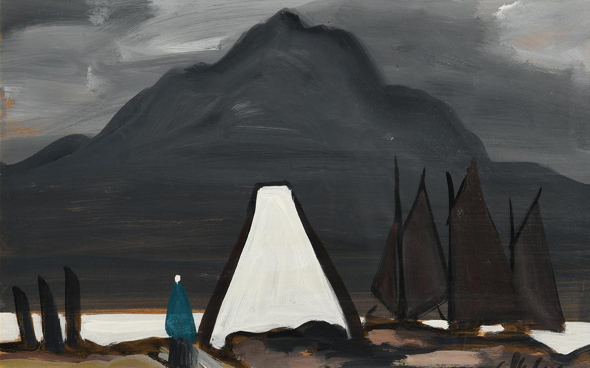 Markey Robinson, Achill Sound at Morgan O'Driscoll Art Auctions