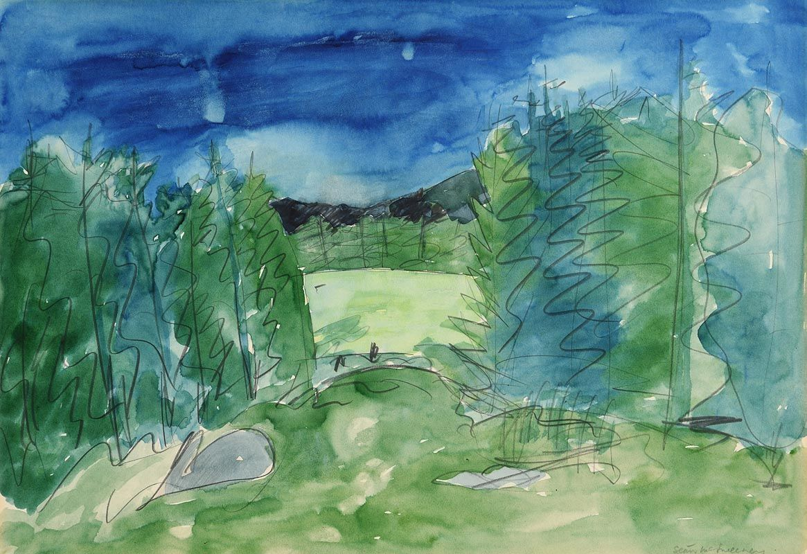 Sean McSweeney, Wooded Landscape at Morgan O'Driscoll Art Auctions
