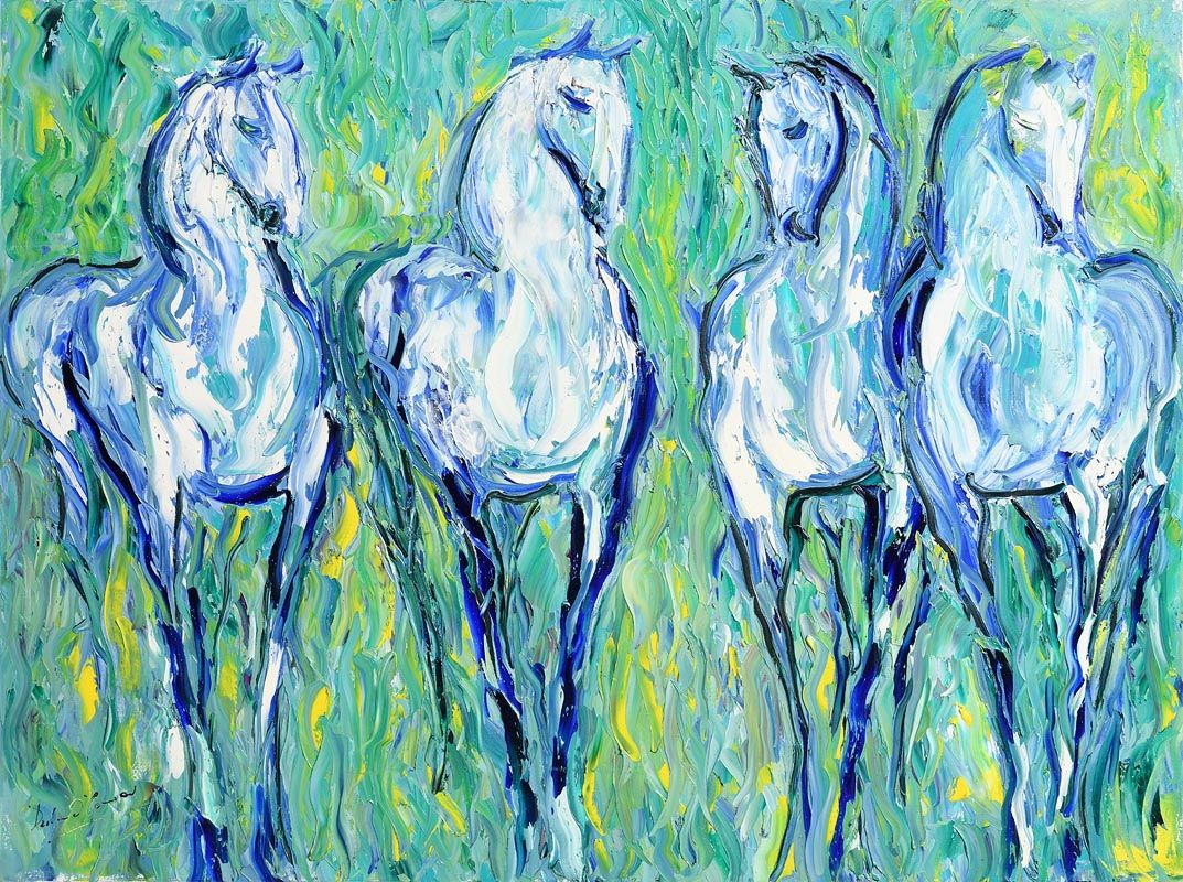 Declan O'Connor, The Gathering at Morgan O'Driscoll Art Auctions