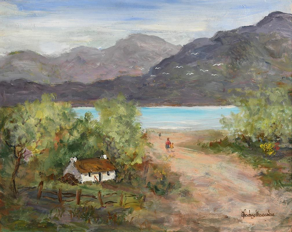 Gladys MacCabe, Way to the Shore, Galway at Morgan O'Driscoll Art Auctions