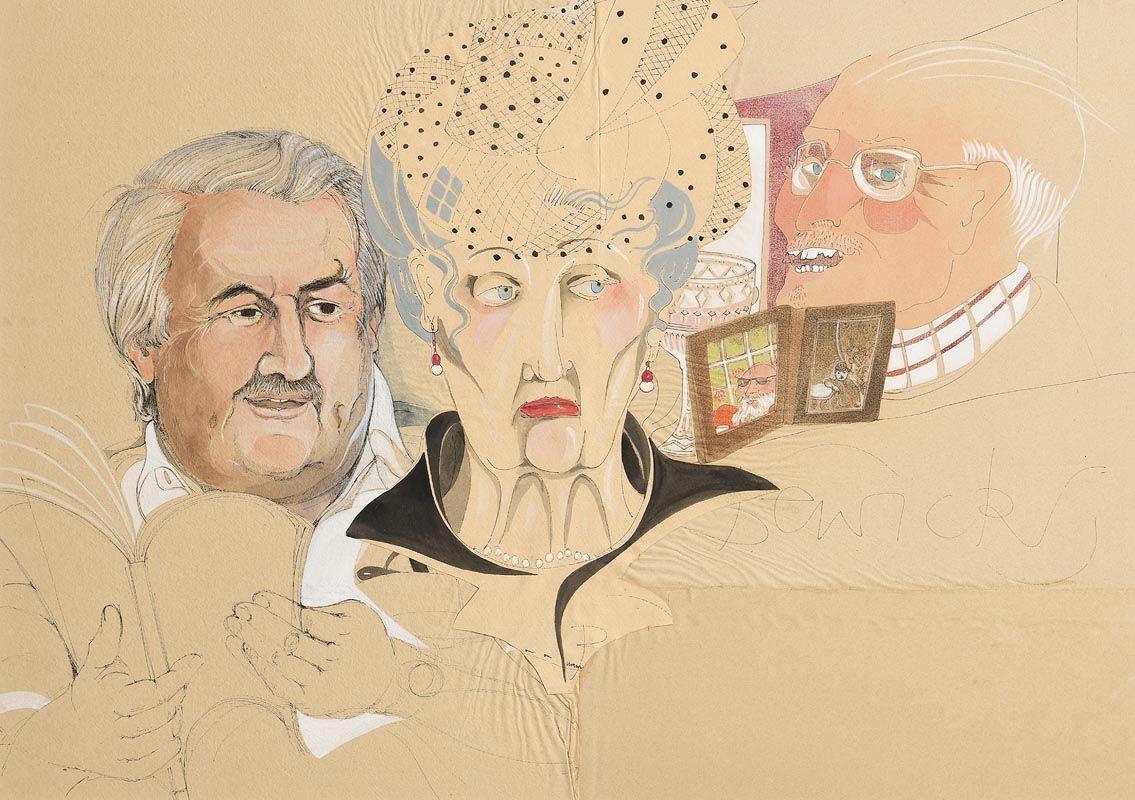 Pauline Bewick, On On Umm at Morgan O'Driscoll Art Auctions