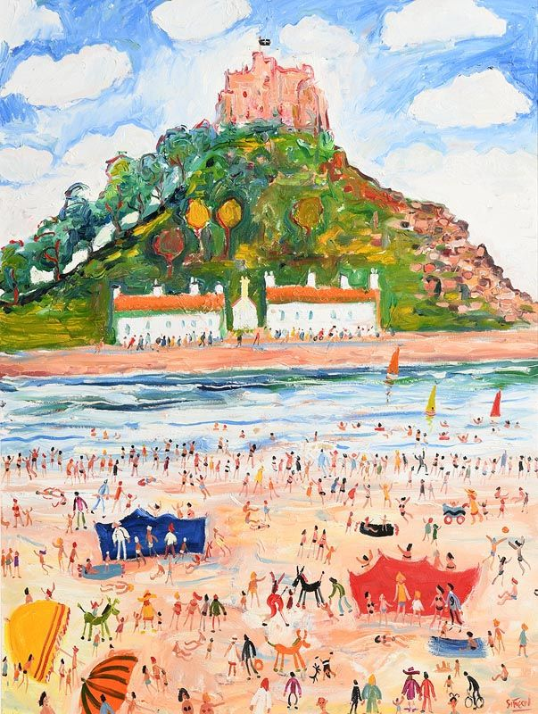Simeon Stafford, St. Michael's Mount, Cornwall at Morgan O'Driscoll Art Auctions
