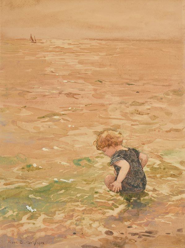 Rose Maynard Barton, Chilly (1913) at Morgan O'Driscoll Art Auctions