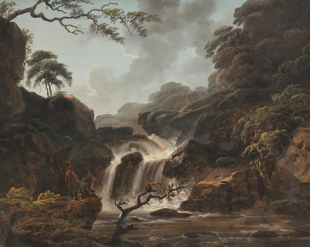 Thomas Walmsley, View of Cora Lynn at the Middle Falls of the Clyde at Morgan O'Driscoll Art Auctions