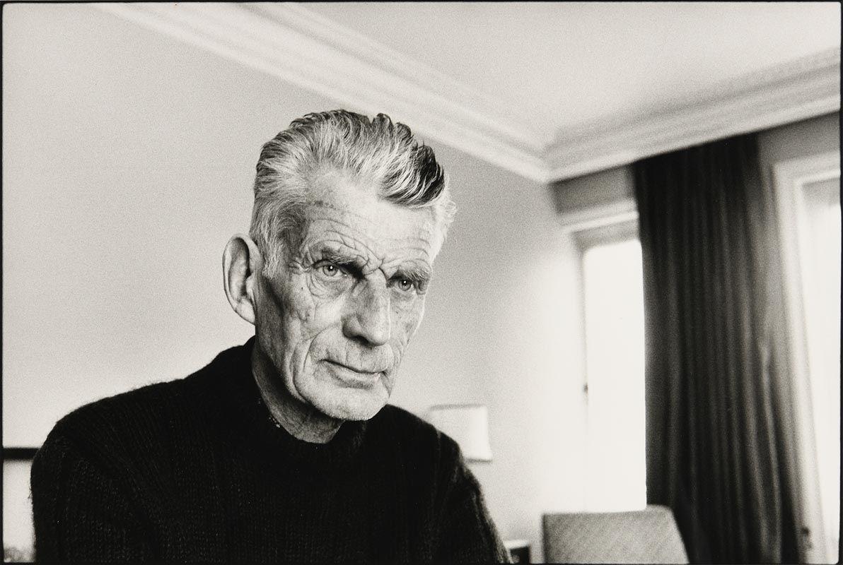 John Minihan, Samuel Beckett Photographed in Room 604, Hyde Park Hotel, London 1980 at Morgan O'Driscoll Art Auctions