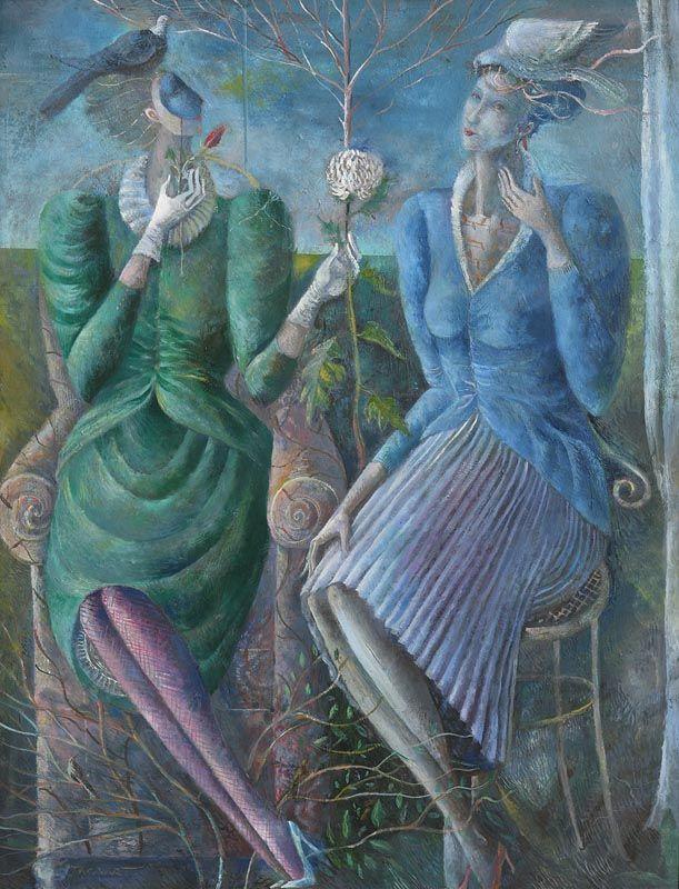 Elizabeth Taggart, The Visit at Morgan O'Driscoll Art Auctions