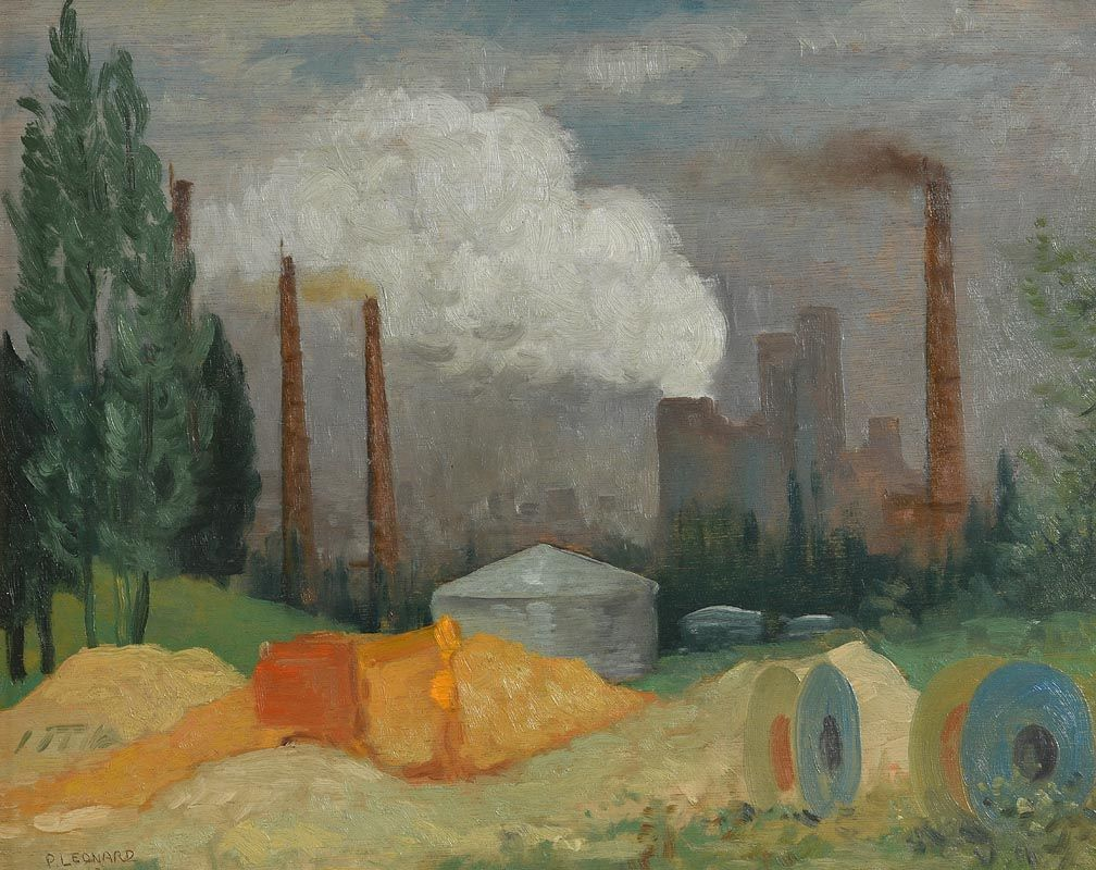 Patrick Leonard, Brussels (1980) at Morgan O'Driscoll Art Auctions