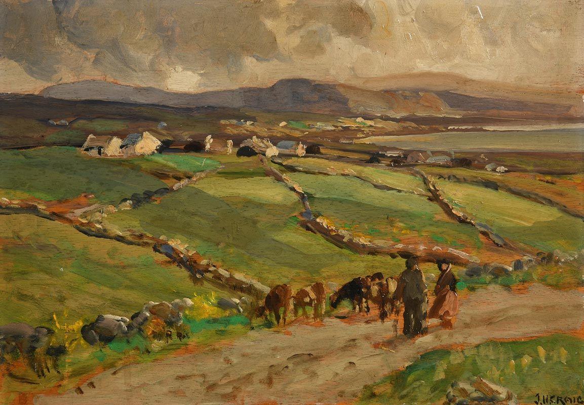 James Humbert Craig, Near Malin Head at Morgan O'Driscoll Art Auctions