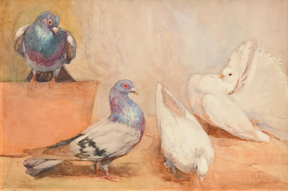 Mildred Anne Butler, Racing Pigeons and Fancy Doves at Morgan O'Driscoll Art Auctions