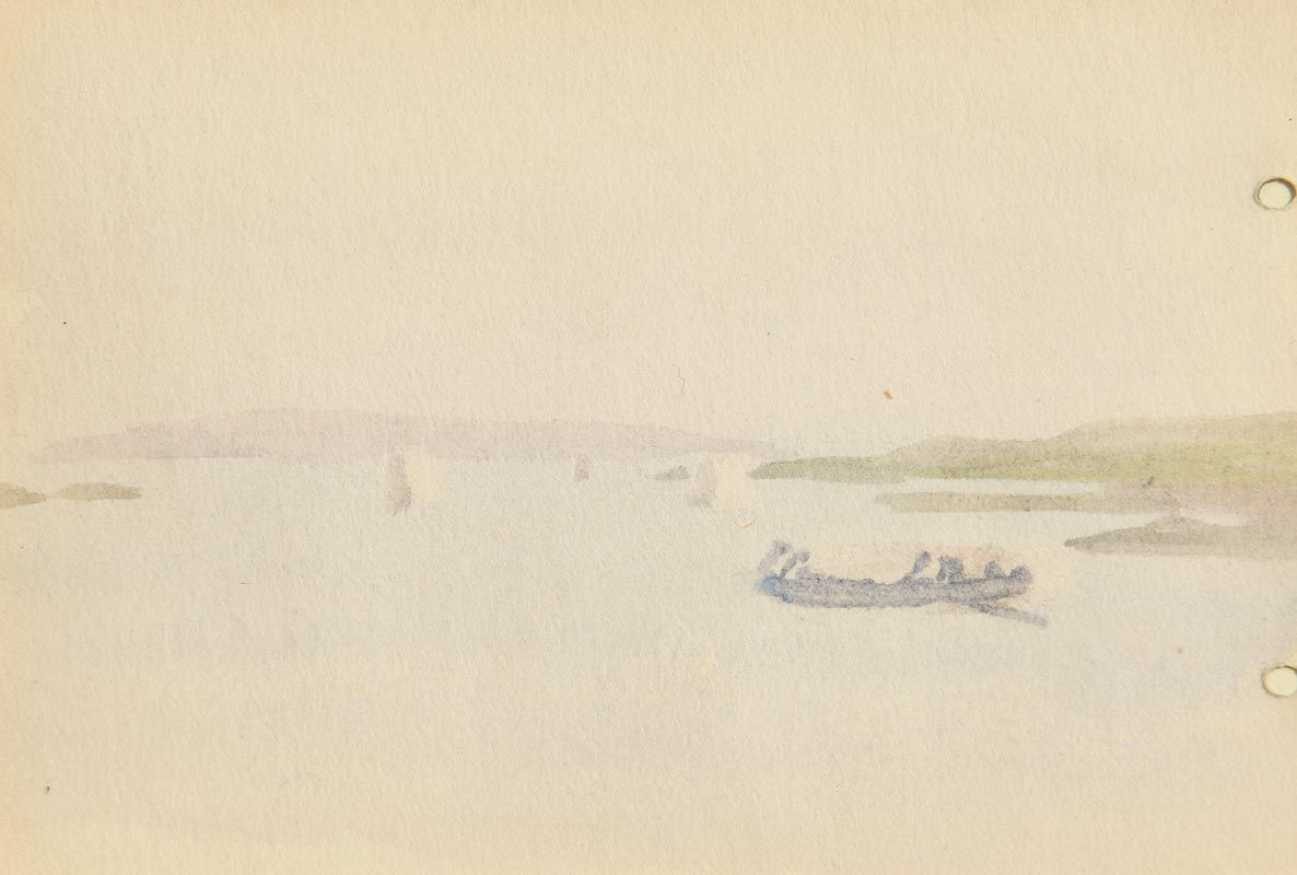 Jack Butler Yeats, Currach off the West Coast at Morgan O'Driscoll Art Auctions