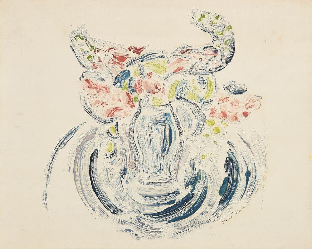 Nano Reid, Still Life - Flowers at Morgan O'Driscoll Art Auctions