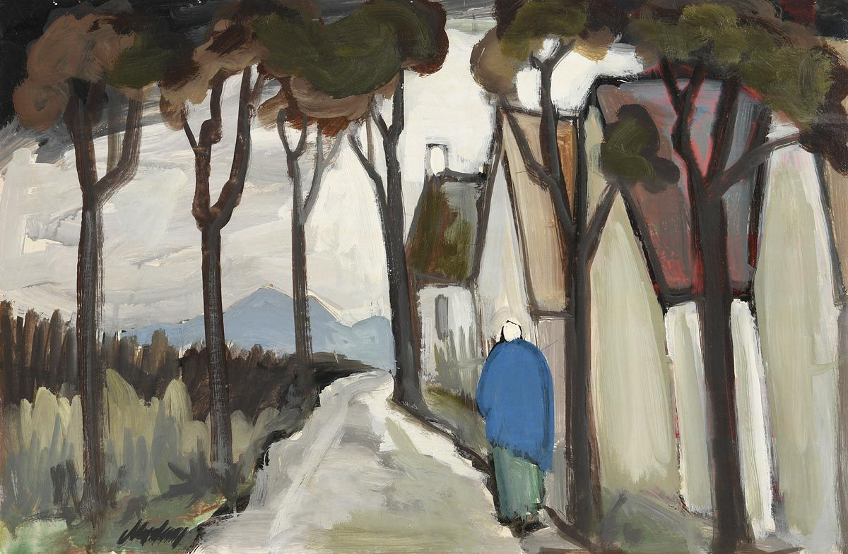 Markey Robinson, Shawlie Heading Home at Morgan O'Driscoll Art Auctions