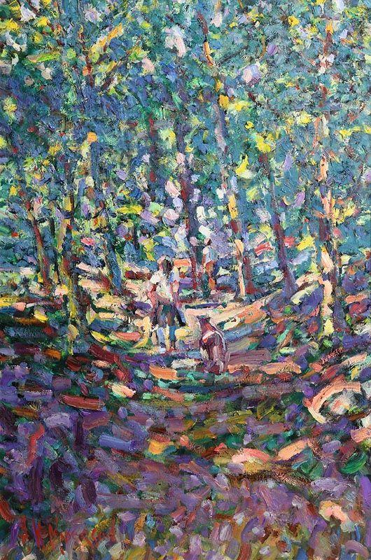 Arthur K. Maderson, Short Cut, Path to Aveze at Morgan O'Driscoll Art Auctions