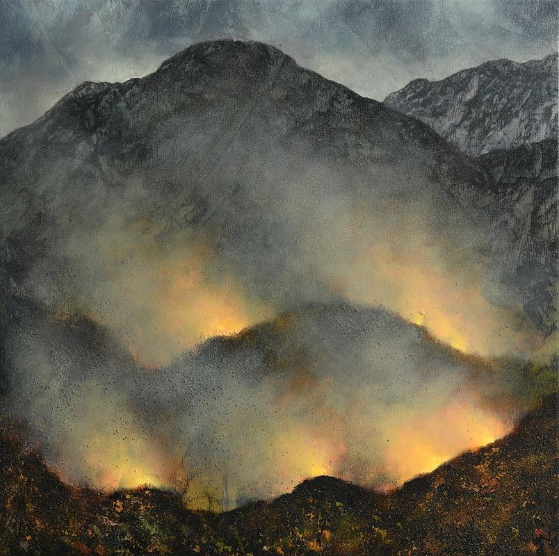 Tim Goulding, Fire on the Mountain  (1993) at Morgan O'Driscoll Art Auctions