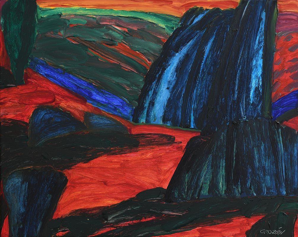 William Crozier, Winter Kilcoe (1993) at Morgan O'Driscoll Art Auctions