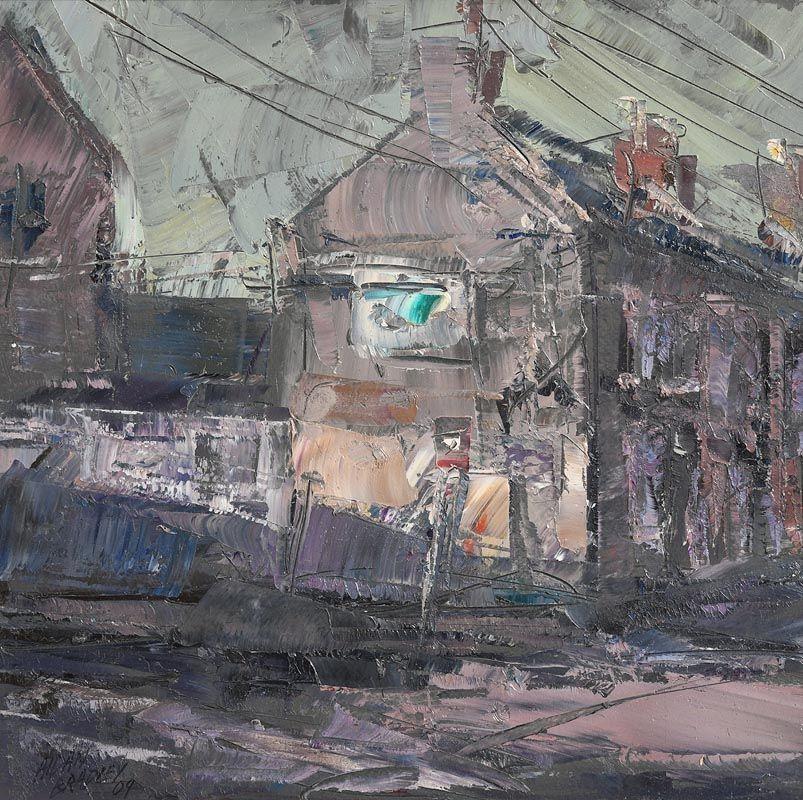Aidan Bradley, Streetscape (2009) at Morgan O'Driscoll Art Auctions