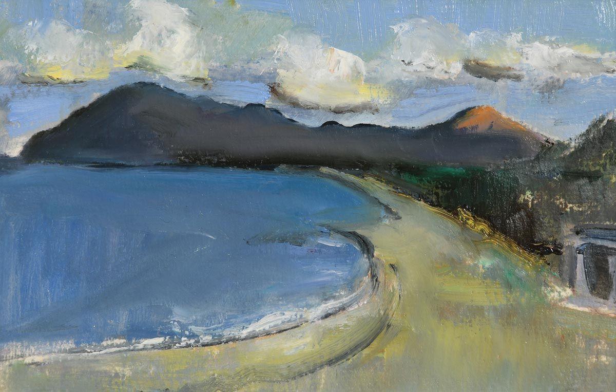 Peter Collis, Killiney Strand at Morgan O'Driscoll Art Auctions