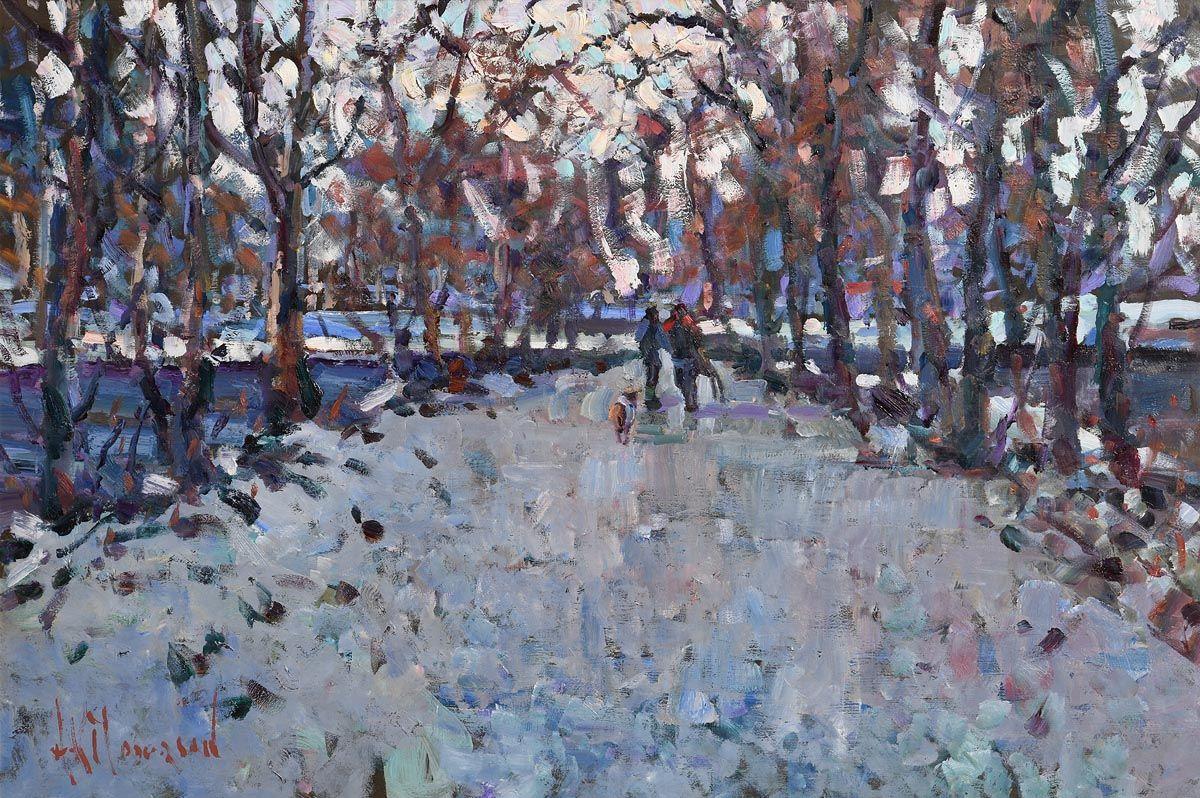 Arthur K. Maderson, Path Across the Lake at Morgan O'Driscoll Art Auctions