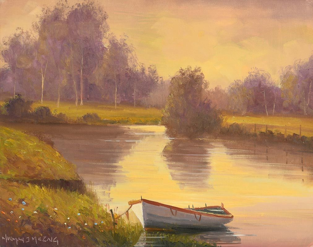 Norman J. McCaig, Inner Lakes, Lough Rea, Athlone at Morgan O'Driscoll Art Auctions