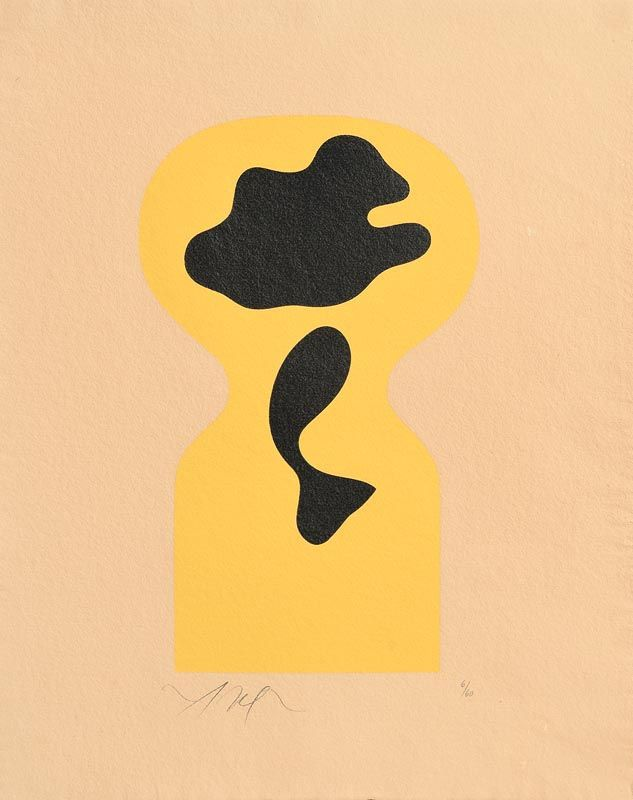 Hans Arp, Soleil Recercle (Couverture), 1966 at Morgan O'Driscoll Art Auctions