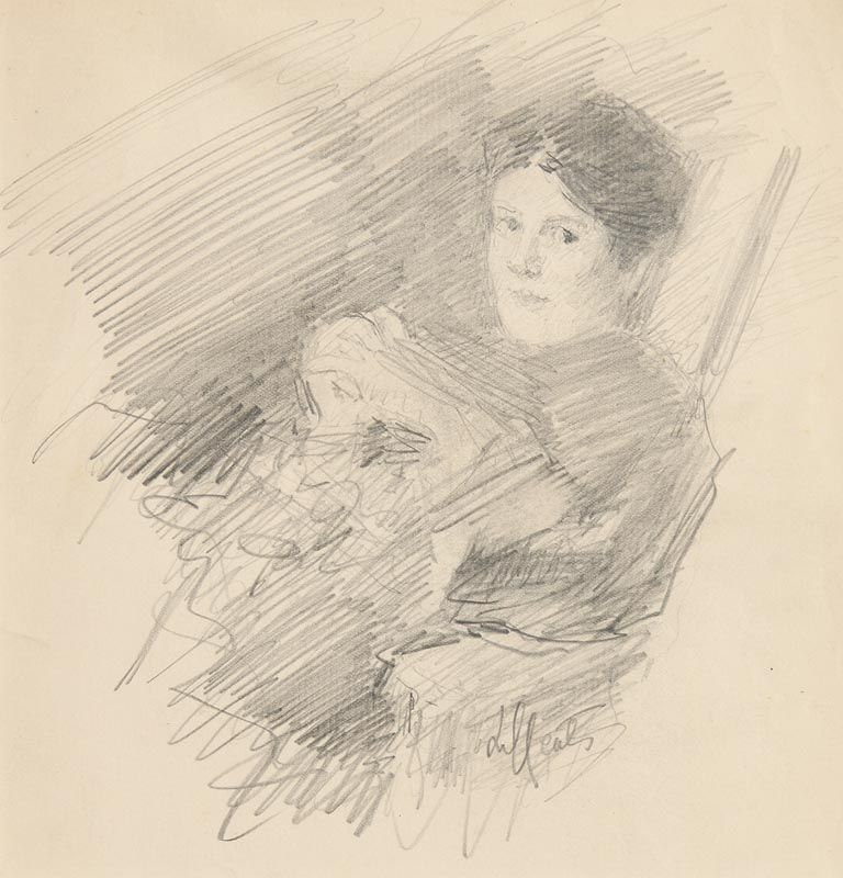 John Butler Yeats, Lilly Yeats at Morgan O'Driscoll Art Auctions