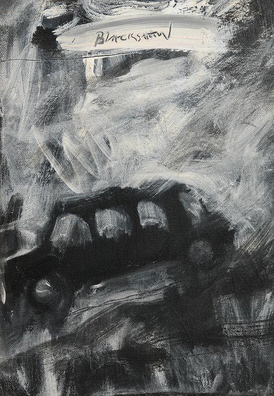 Basil Blackshaw, Black Cab at Morgan O'Driscoll Art Auctions