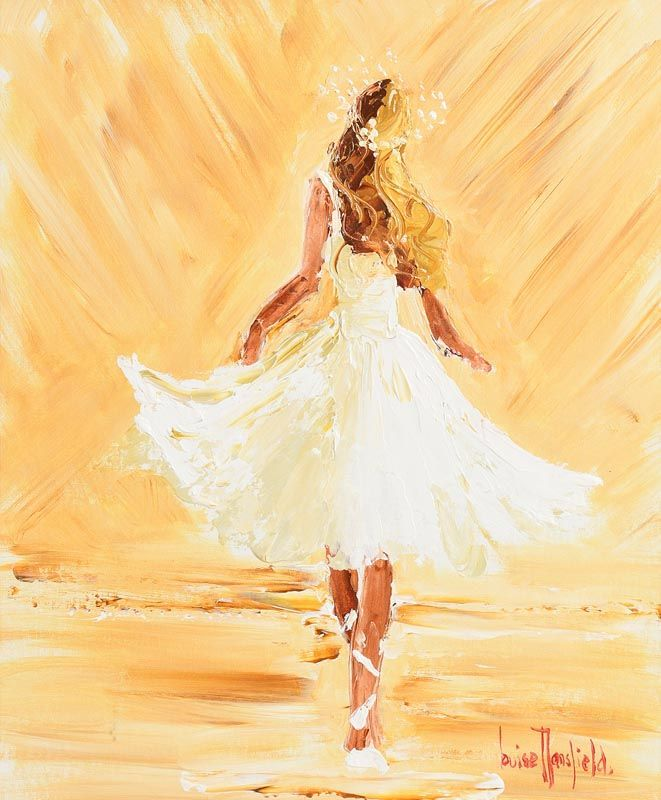 Louise Mansfield, Dancer in White at Morgan O'Driscoll Art Auctions