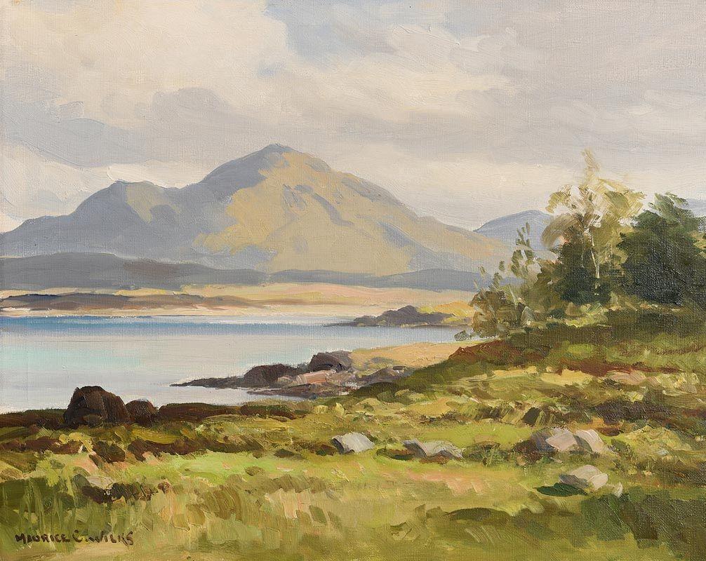 Maurice Canning Wilks, Near Renvyle, Connemara at Morgan O'Driscoll Art Auctions