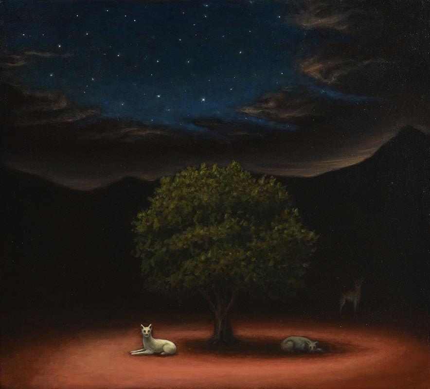 Robert Ryan, The Sacred Tree at Morgan O'Driscoll Art Auctions