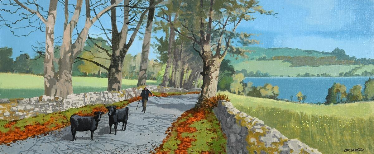 John Francis Skelton, The Golden Mile, Mullagh, Cavan at Morgan O'Driscoll Art Auctions