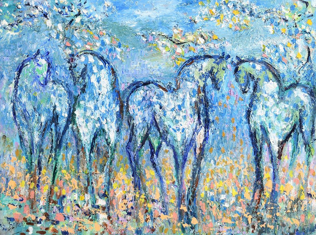 Declan O'Connor, The Orchard at Morgan O'Driscoll Art Auctions