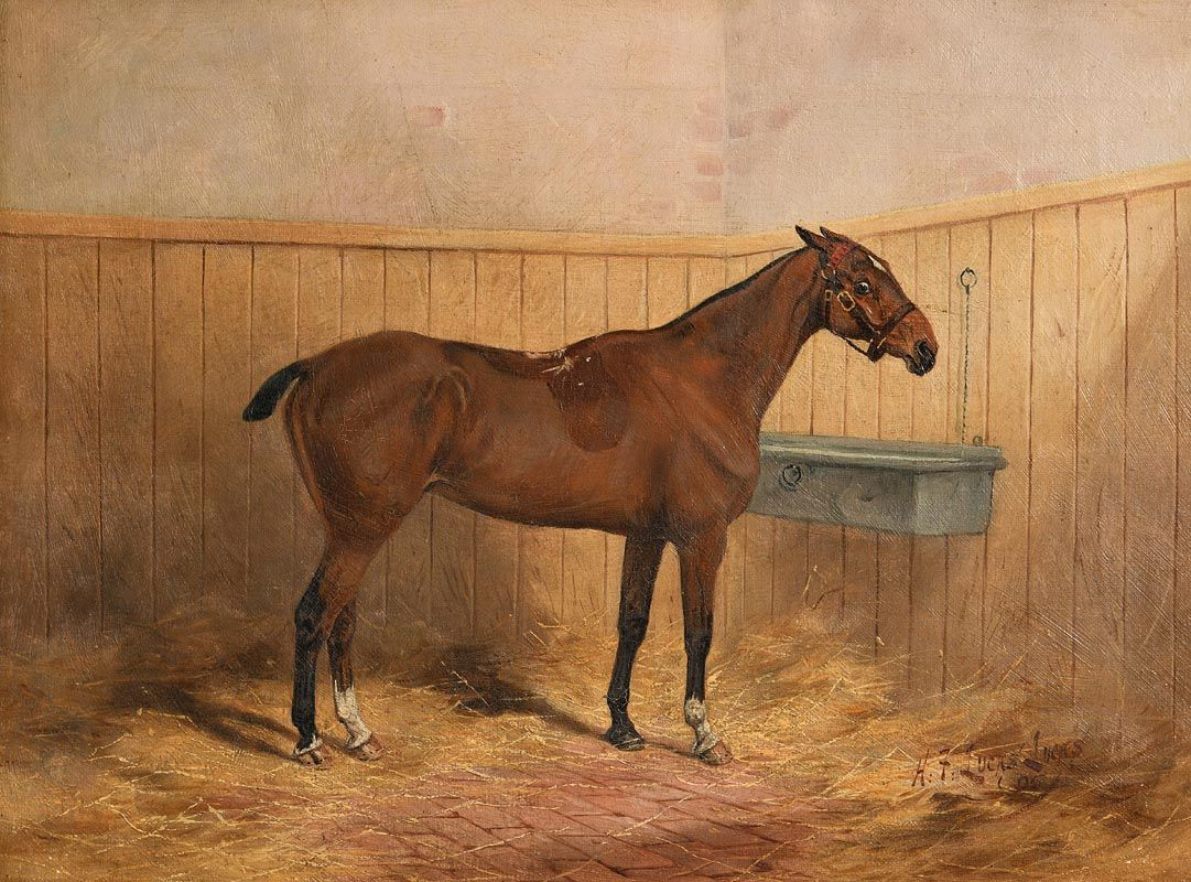 Lot 166 - 'Blanchardstown (1895)' by Henry Frederick Lucas