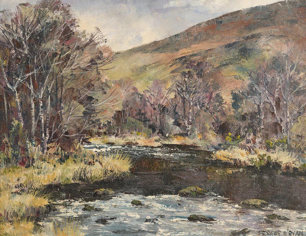 Fergus O'Ryan, Annamoe, Co. Wicklow at Morgan O'Driscoll Art Auctions