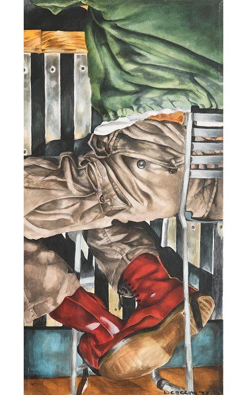 Liza Coggins, Doc Martin Boots (1997) at Morgan O'Driscoll Art Auctions