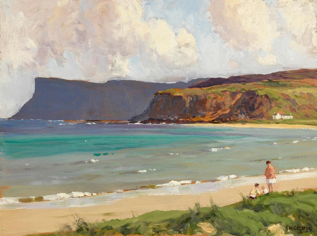 James Humbert Craig, Fairhead, Ballycastle, Co Antrim at Morgan O'Driscoll Art Auctions