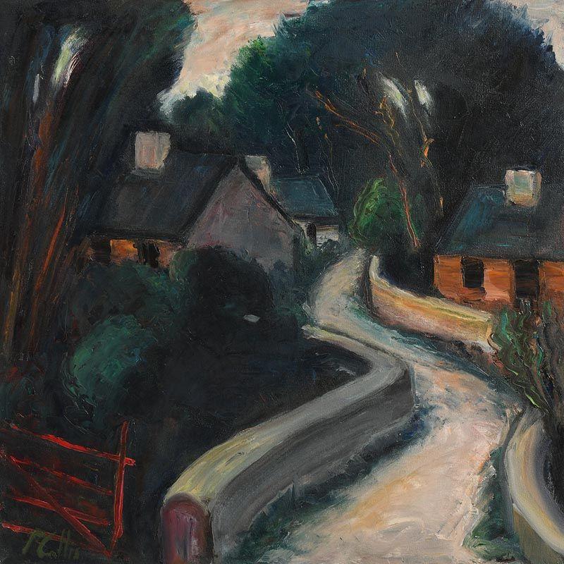 Peter Collis, Farmstead at Morgan O'Driscoll Art Auctions