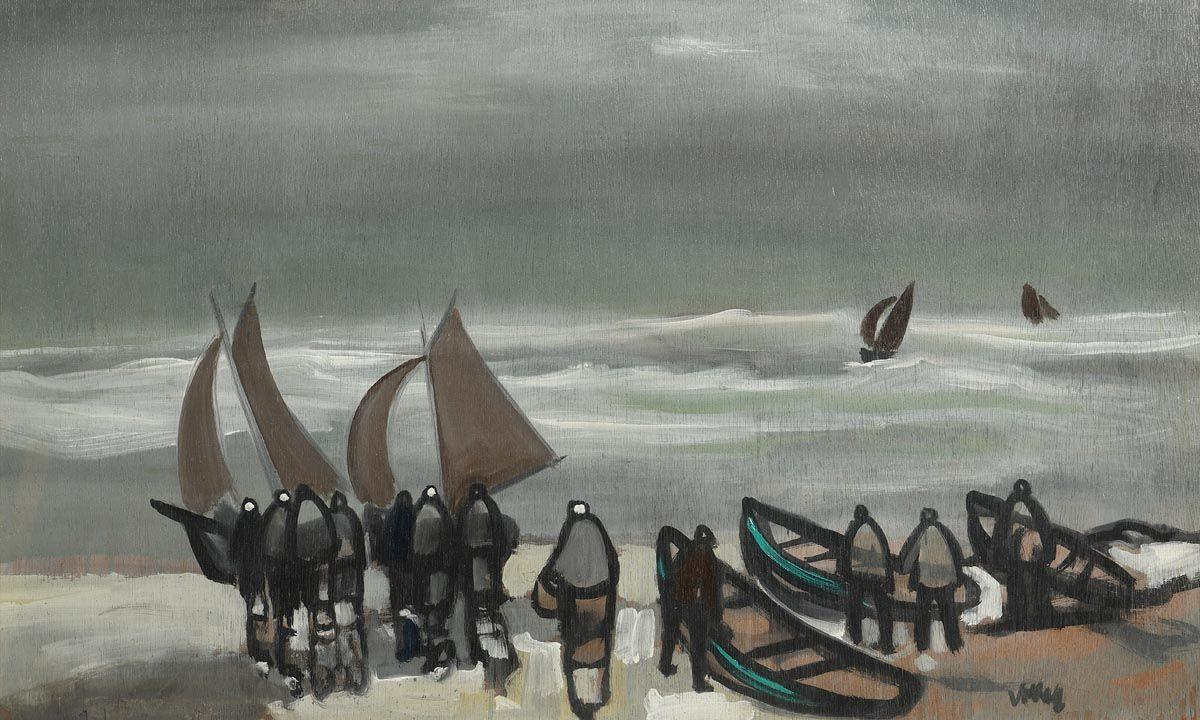 Markey Robinson, Coming Ashore at Morgan O'Driscoll Art Auctions