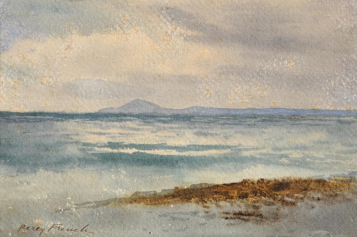 Percy French, Western Seascape at Morgan O'Driscoll Art Auctions
