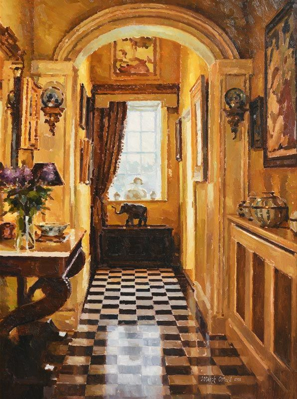 Mark O'Neill, Interior with Lilac (2002) at Morgan O'Driscoll Art Auctions