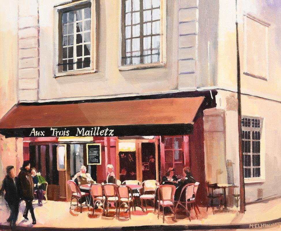 David McElhinney, Aux Trois Mailletz at Morgan O'Driscoll Art Auctions