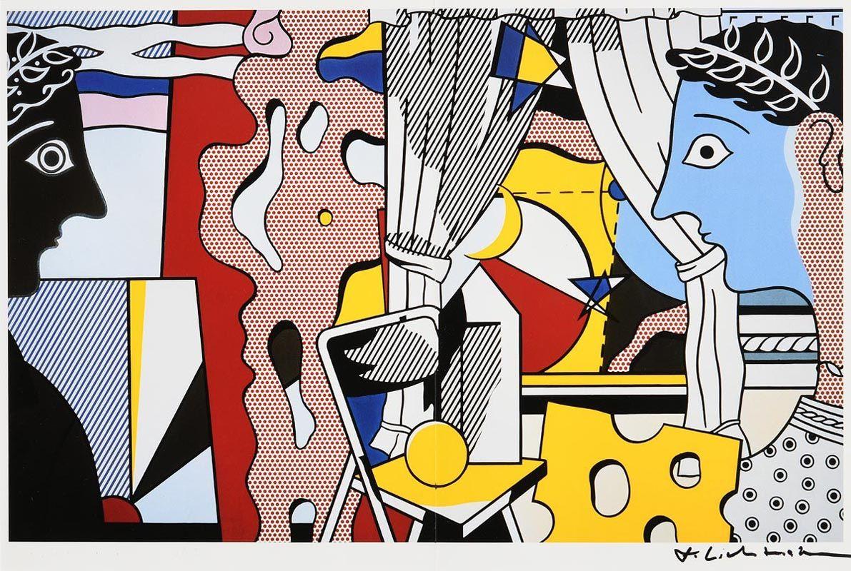 Roy Lichtenstein, Untitled (1984) at Morgan O'Driscoll Art Auctions