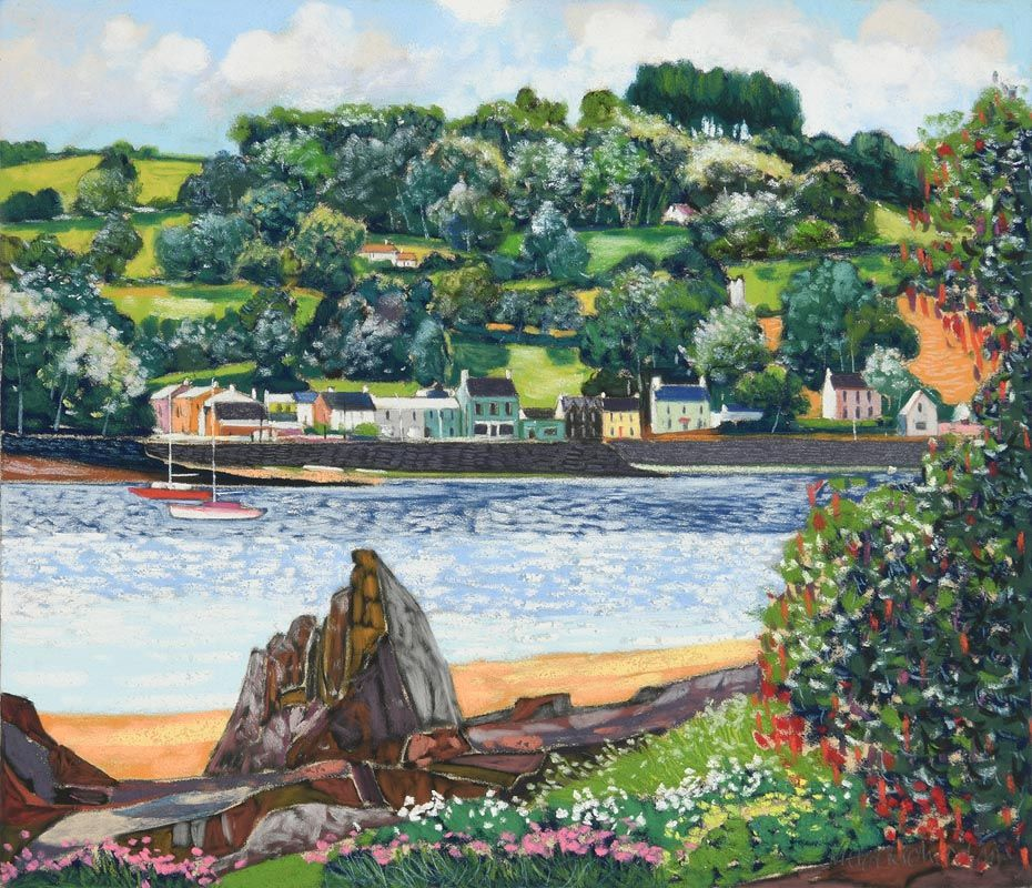 Victor Richardson, Courtmacsherry, West Cork at Morgan O'Driscoll Art Auctions