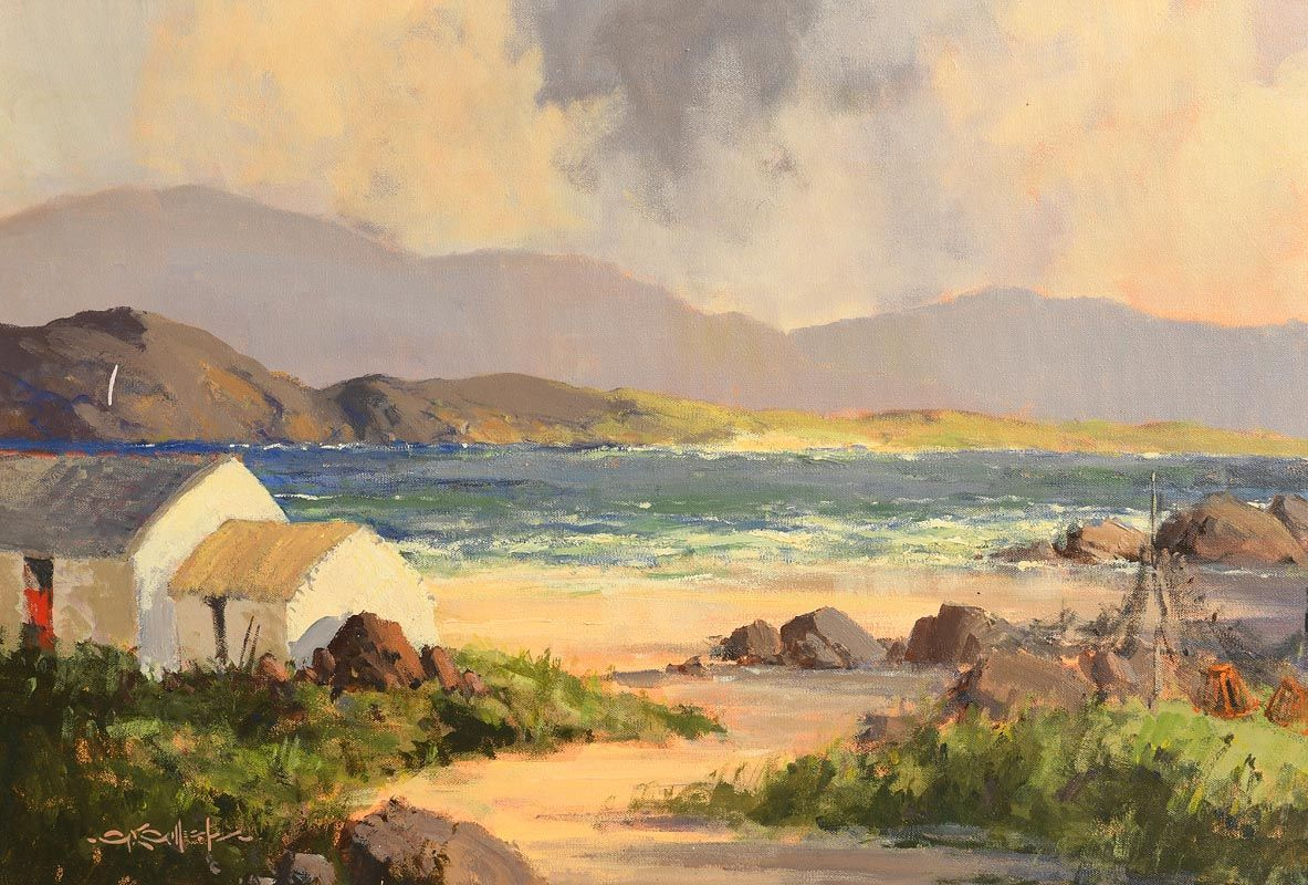 George K. Gillespie, Near Letterfrack, Connemara, Co. Galway at Morgan O'Driscoll Art Auctions