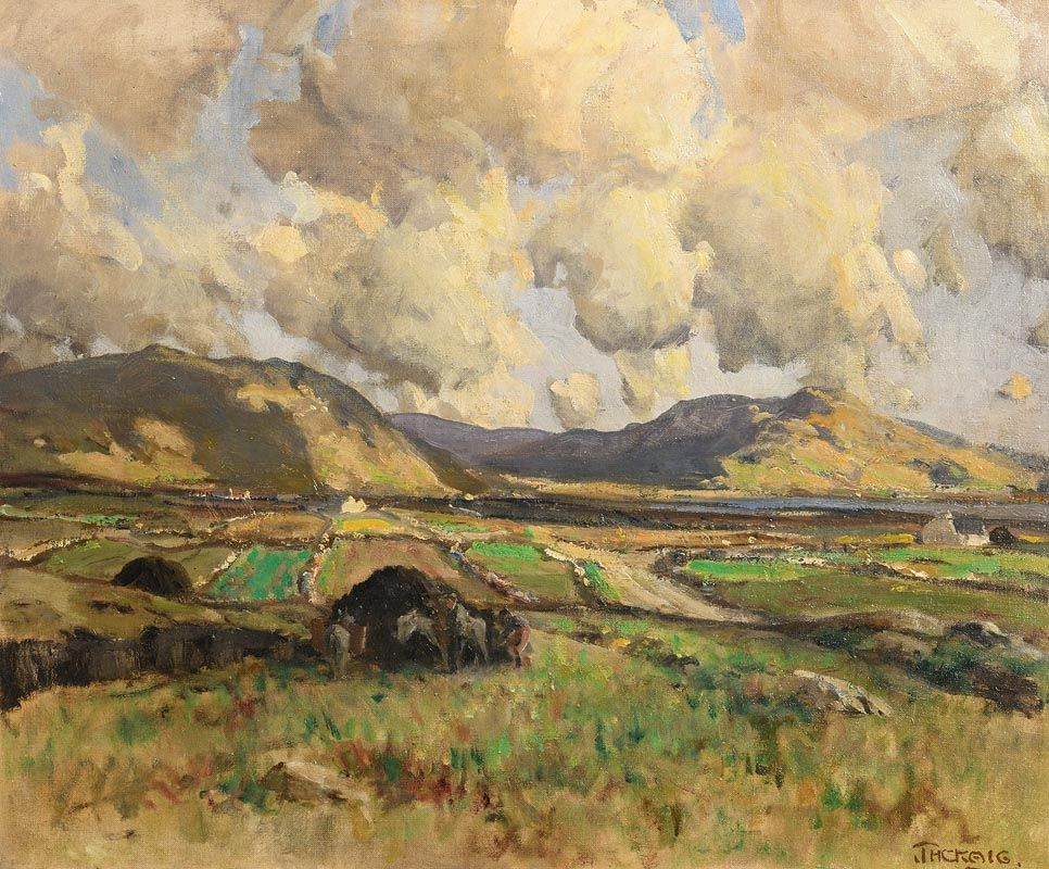 James Humbert Craig, The Rosses, Co Donegal at Morgan O'Driscoll Art Auctions